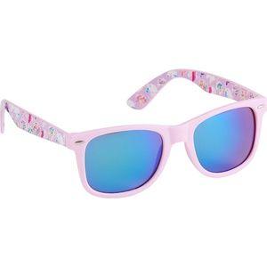 Unicorn wayfarer pink plastic sunglasses uv protec